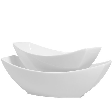 Denmark Tools for Cooks 2-Pc Boat-Shaped Bowl Set