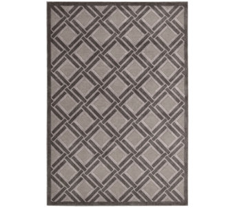 "Graphic Illusions 5'3"" x 7'5"" Rug by Nourison - H286337"