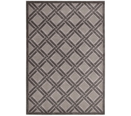 "Graphic Illusions 5'3"" x 7'5"" Rug by Nourison"