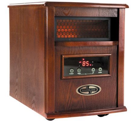 Snow Joe Glo 1500-Watt Infrared Quartz Heater