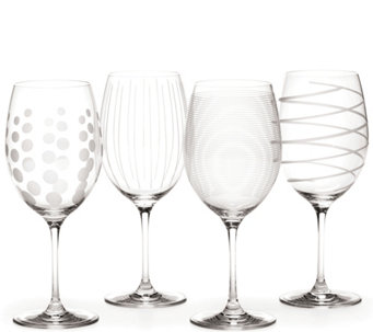 Mikasa Set of 4 Red Wine Glasses - Cheers Collection - H289237
