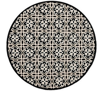 Safavieh Four Seasons 6' Diam Round Rug Indoor/Outdoor - H366437
