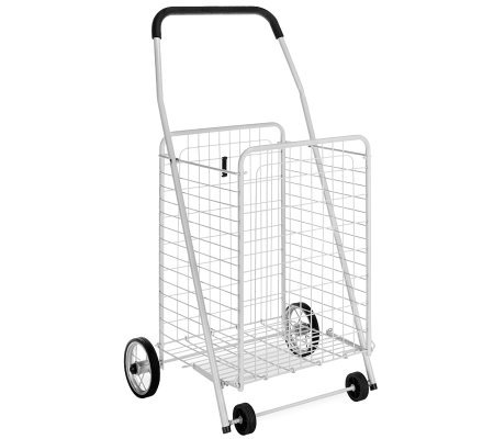 Whitmor Rolling Utility Cart White