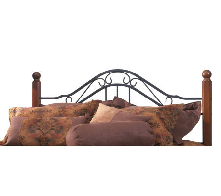 Hillsdale House Madison Twin Headboard - CherryFinish/Black