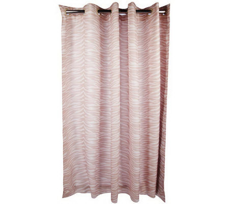 hookless animal print water repellent shower curtain