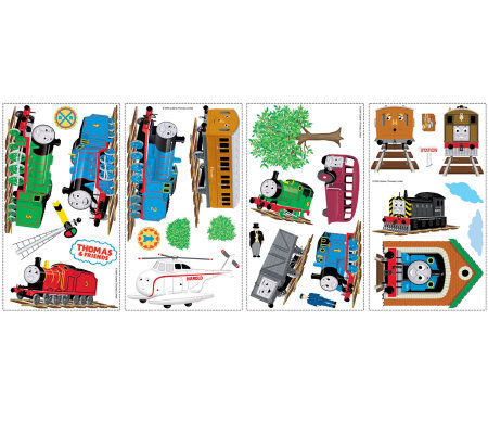 RoomMates Thomas & Friends Peel & Stick Wall Decals