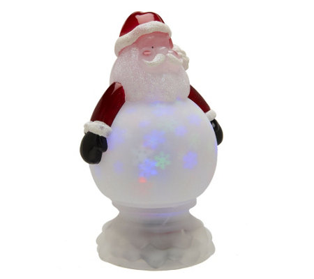 Kringle Express Battery Op. Holographic Christmas Character