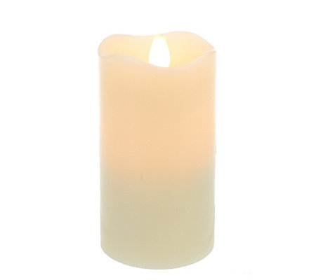 "Solare 5"" Flameless Candle with 3D Flame Technology"