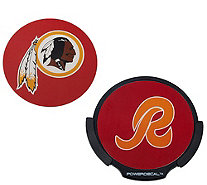 NFL Motion Activated Light Up Decals w/ 2 Inserts by Lori Greiner - H206838