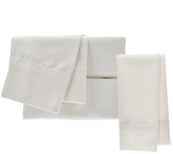 Serta SuperSoft Microfiber Queen Sheet Set with Nanotex and Extra Cases - H208838