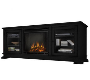 Real Flame Hudson Electric Fireplace and Entert ainment Unit - H281238