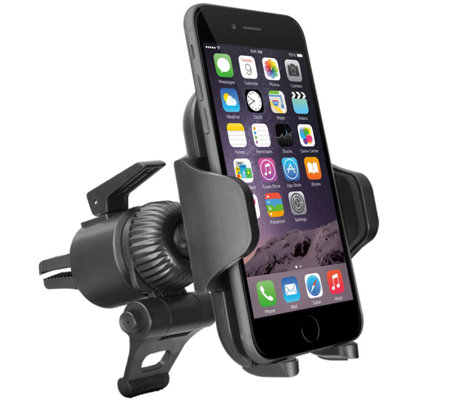 Fully Adjustable Car Vent Mount for iPhone, Android & GPS