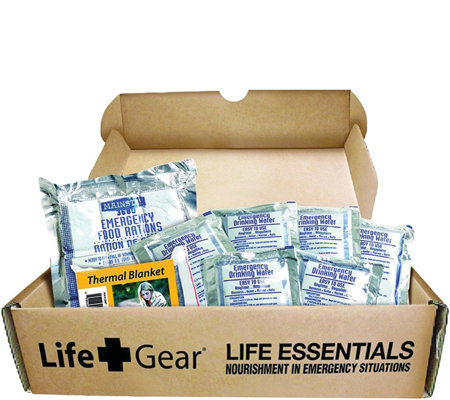 Life Gear Life Essential 72-Hour Food and WaterKit