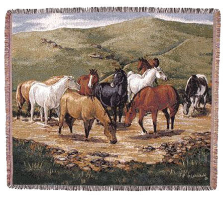 Cripple Creek Remuda Throw