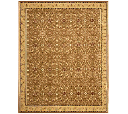 "Treasures Bordered Persian Power-Loomed  8'9"" x12' Rug"