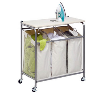 Honey-Can-Do Ironing and Sorter Combo Laundry Center - H367438