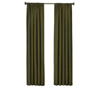 "Eclipse 42"" x 63"" Kendall Blackout Window Curtain Panel - H367538"