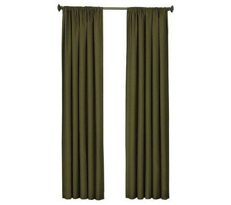 "Eclipse 42"" x 63"" Kendall Blackout Window Curtain Panel"