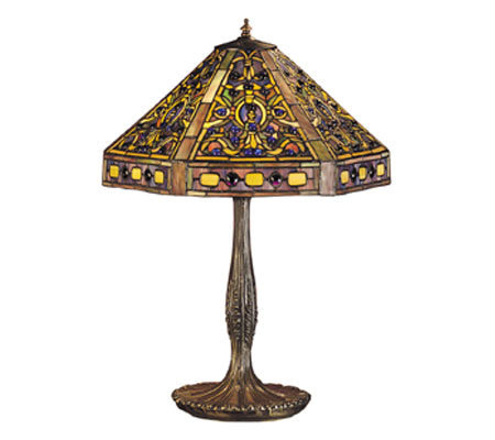 Tiffany Style 24 Elizabethan Table Lamp QVC