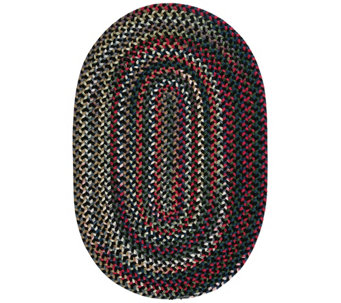 Chestnut Knoll 7' x 9' Oval Braided Rug by Colonial Mills - H130039