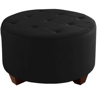 Skyline Furniture Tufted Premier Fabric Cocktail Ottoman - H160939