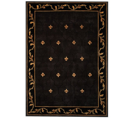 Royal Palace Special Edition Fleur De Lis 8' x 11' Wool Rug