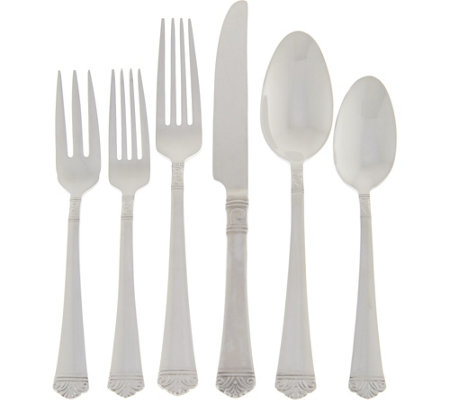 Argent by Hampton Forge 18/10 S/S 75-pc Service for 12 Flatware Set
