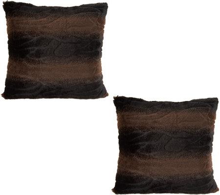 pillow accessories fur black viyet pillows faux furniture acc designer front custom