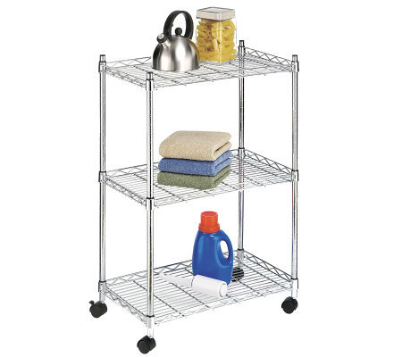 Whitmor Supreme Three-Tier Cart