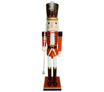 "60"" Royal Guard Nutcracker with Sword by Santa's Workshop - H281639"