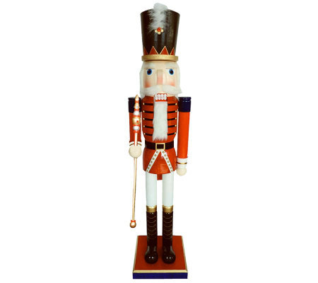 "60"" Royal Guard Nutcracker with Sword by Santa's Workshop"