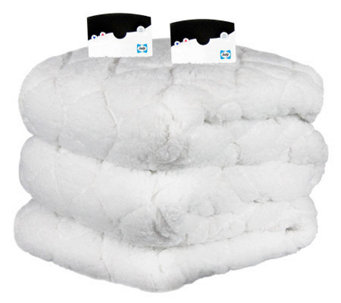 Biddeford Sherpa Queen Size Heated Pad - H282439