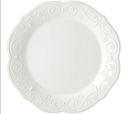 Lenox French Perle Round Serving Platter