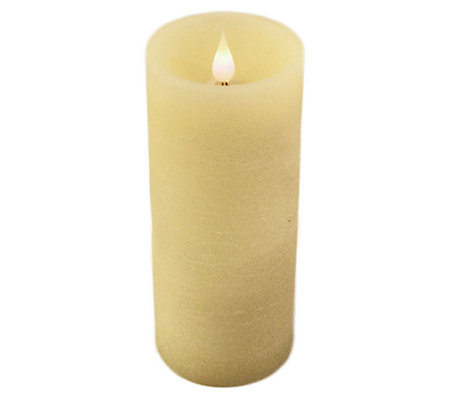 "Pacific Accents Solare Flat Top 3"" x 7"" Flameless Candle"