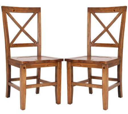 Construction Casual Dining Chairs Natural Finish