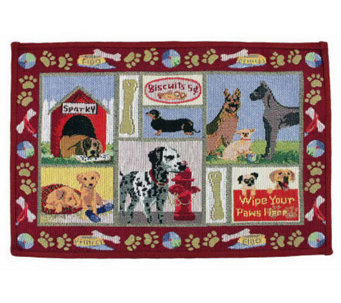 Dog Days 19x13 Tapestry Rug - H349239