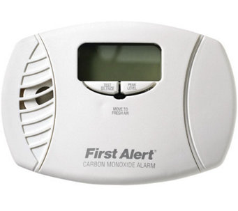 First Alert Carbon Monoxide Plug-in Alarm & Digital Display - H363739