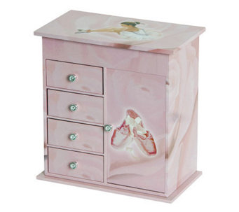 Mele & Co. Callie Girl's Musical Ballerina Jewelry Box - H366139
