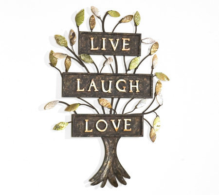 Live laugh love metal wall art page 1 for Live laugh love wall art