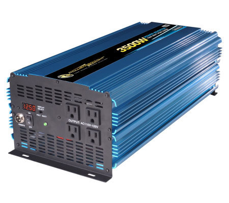 12 Volt DC to AC 3500 Watt Power Inverter