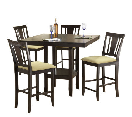 Hillsdale Furniture Arcadia 5 Piece Counter-Height Dining Set