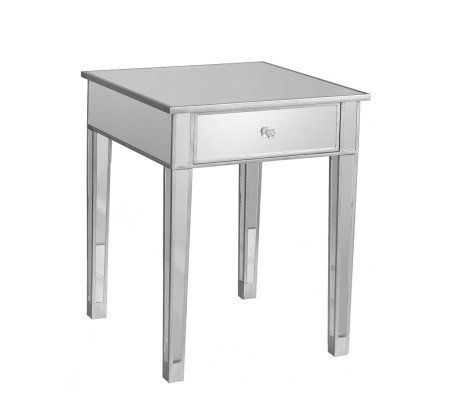 Knight Mirrored Accent Table