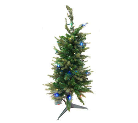 BethlehemLights BatteryOperated 3ft. Scottsdale Stake Tree with Timer