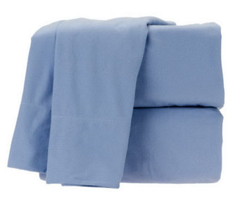 Home Reflections Micro Flannel Super Soft QN Sheet Set - H199940