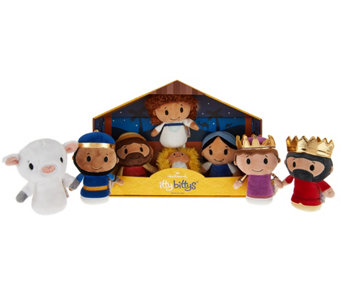 Hallmark itty bittys Plush Deluxe Nativity Set - H208940