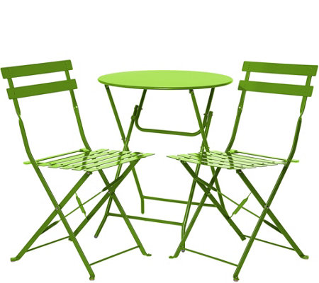 Cosco Outdoor 3-Piece Folding Bistro Set