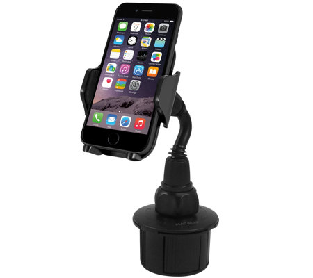 "2.5"" Adjustable Cup Holder for iPhone, iPod & Mobile Devices"