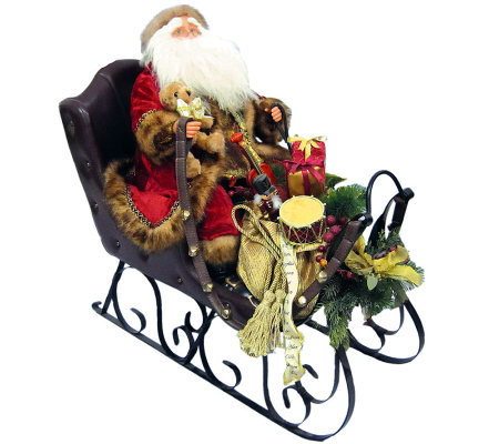 Santa in Sleigh by Santa's Workshop