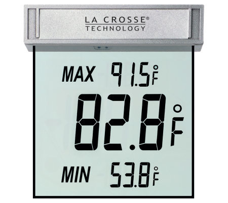 La Crosse WS-1025 Window Thermometer