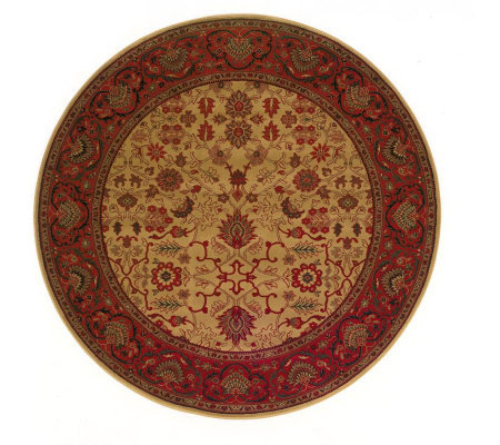 "Couristan 7'10"" Everest ""Tabriz"" Round Rug"